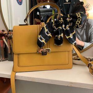 Aldo Glenda top handle foldover satchel bag